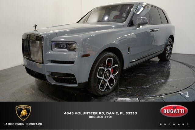 2021 Rolls-Royce Cullinan Black Radge AWD