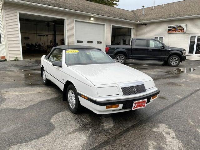 1991 Chrysler Le Baron 2 Dr GTC Convertible