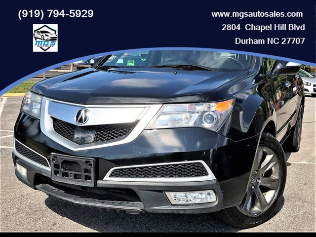 2010 Acura MDX SH-AWD with Advance and Entertainment Package