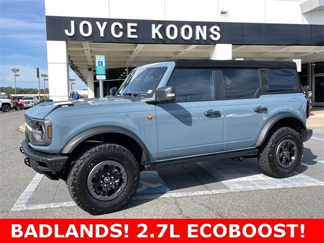 2021 Ford Bronco Badlands Advanced 4-Door 4WD
