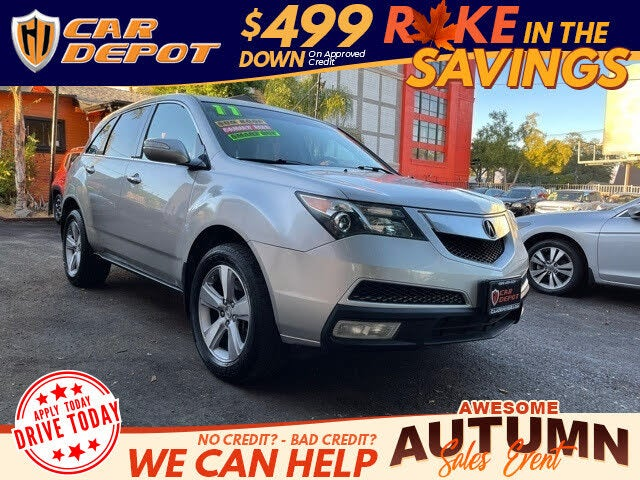 2011 Acura MDX SH-AWD with Advance and Entertainment Package