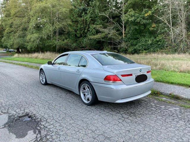 2003 BMW 7 Series 760Li RWD