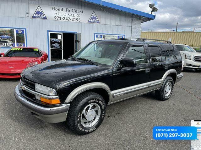1999 Chevrolet Blazer LT 4-Door 4WD