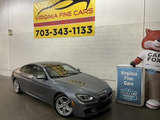 2014 BMW 6 Series 640i Gran Coupe RWD