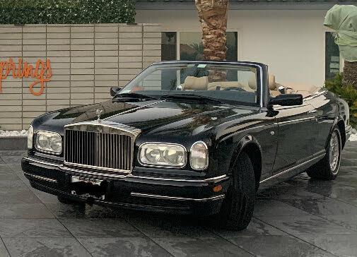 2001 Rolls-Royce Corniche Turbo Convertible