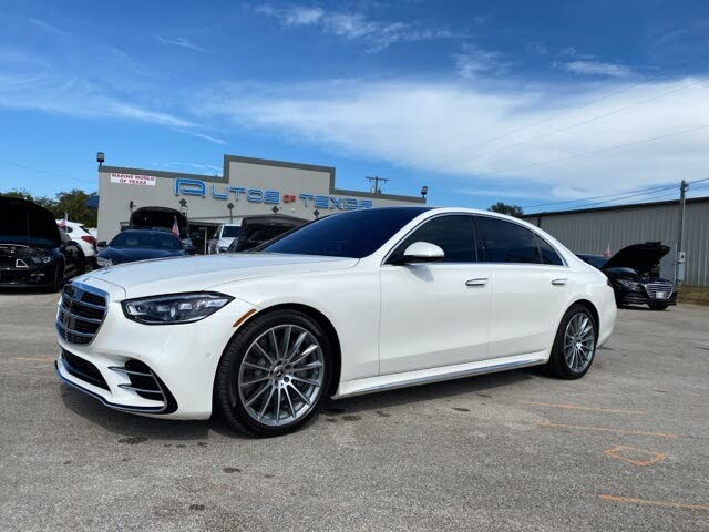 2021 Mercedes-Benz S-Class S 580 4MATIC Sedan AWD