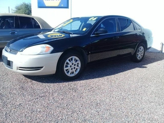 2006 Chevrolet Impala Unmarked Police FWD