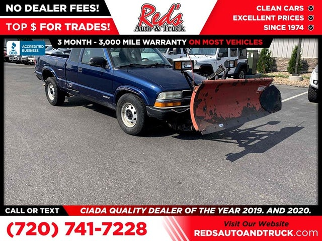 2000 Chevrolet S-10 Extended Cab 4WD
