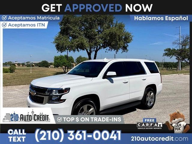2017 Chevrolet Tahoe Police RWD
