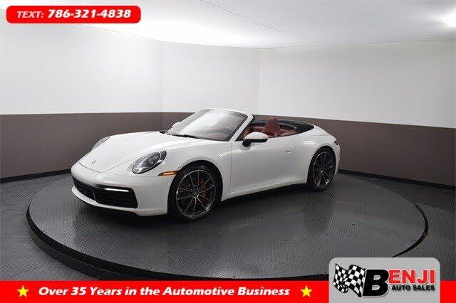 2020 Porsche 911 Carrera S Cabriolet RWD