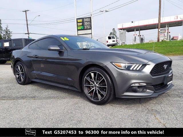 2016 Ford Mustang EcoBoost Coupe RWD