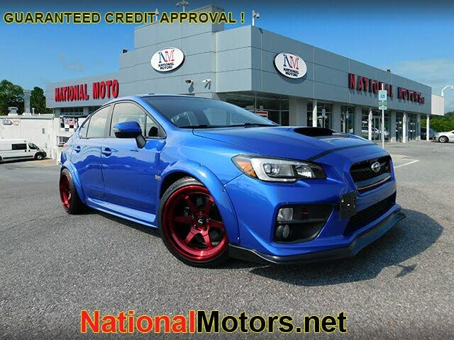 2017 Subaru WRX STI Limited with Low Profile Spoiler AWD