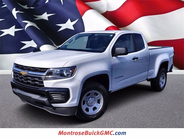 2022 Chevrolet Colorado Work Truck Extended Cab RWD