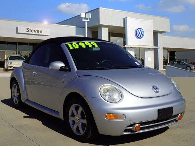 2005 Volkswagen Beetle GLS 1.8L Convertible