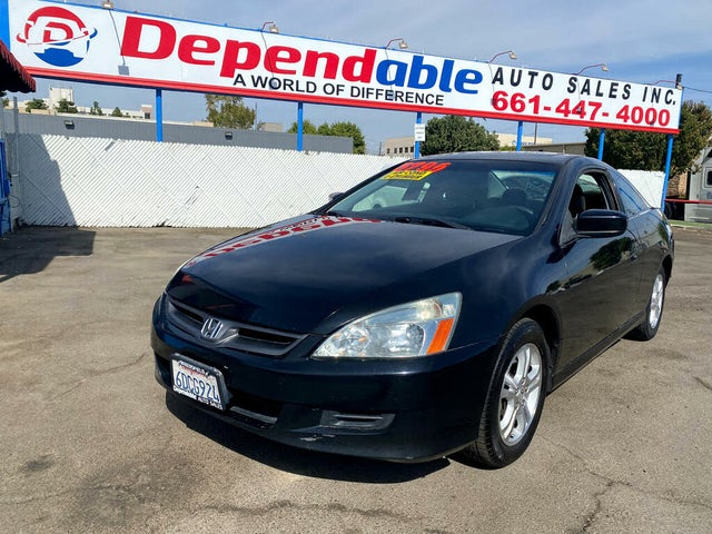 2007 Honda Accord Coupe EX-L with Nav