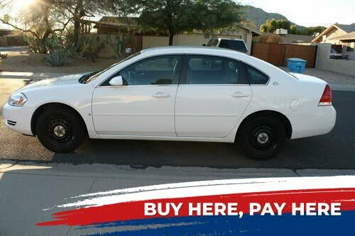 2007 Chevrolet Impala Unmarked Police FWD