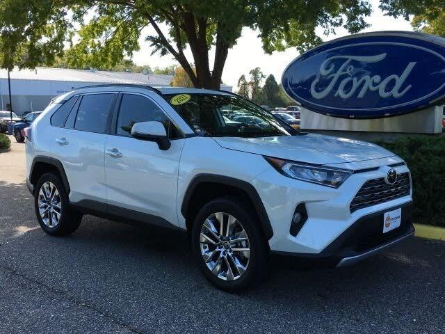 2021 Toyota RAV4 Limited FWD