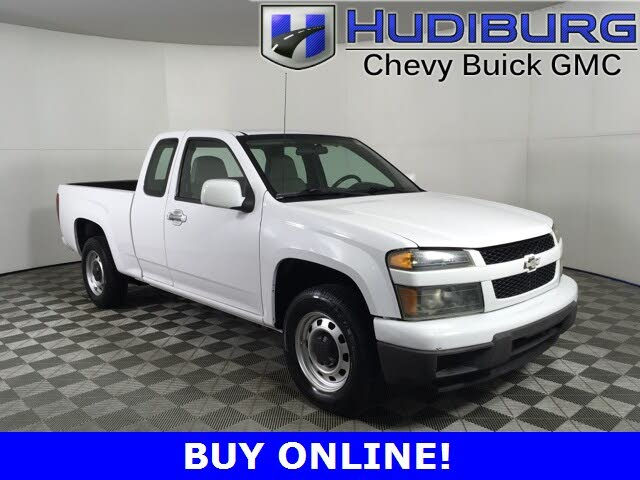 2009 Chevrolet Colorado Work Truck Extended Cab RWD
