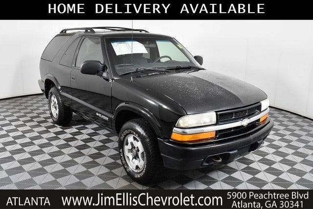 2002 Chevrolet Blazer LS 2-Door 4WD
