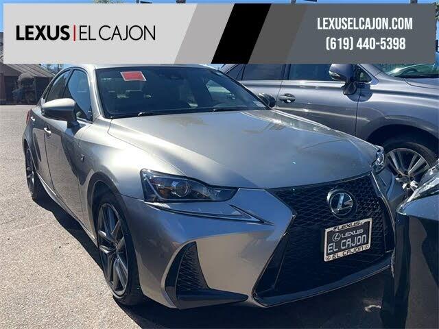 2018 Lexus IS 350 RWD
