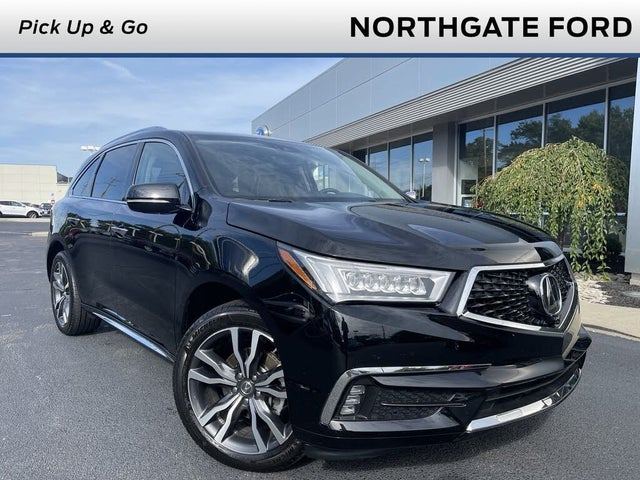 2020 Acura MDX SH-AWD with Advance and Entertainment Package