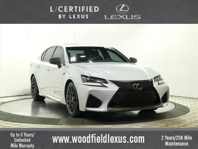 2018 Lexus GS F F RWD