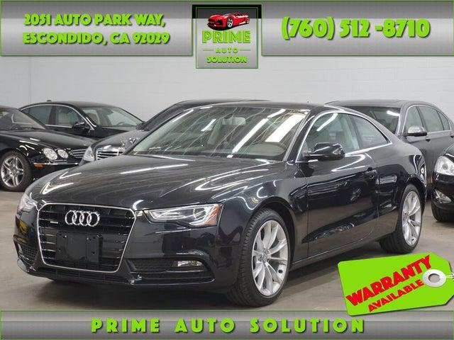 2014 Audi A5 2.0T quattro Premium Plus Coupe AWD