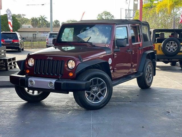 2008 Jeep Wrangler Unlimited Sahara RWD