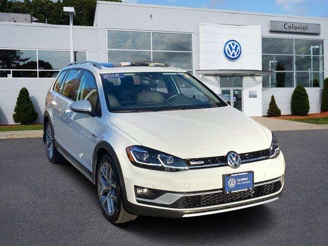 2018 Volkswagen Golf Alltrack SEL 4Motion AWD