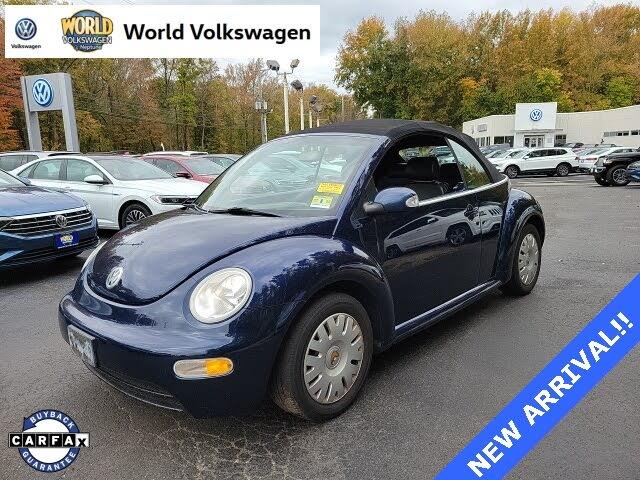2005 Volkswagen Beetle GL 2.0L Convertible