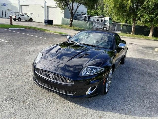 2013 Jaguar XK-Series XKR Convertible RWD