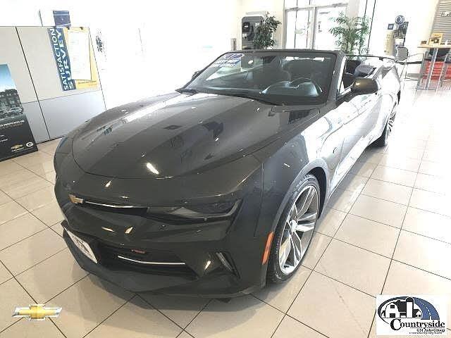 2017 Chevrolet Camaro 1LT Convertible RWD