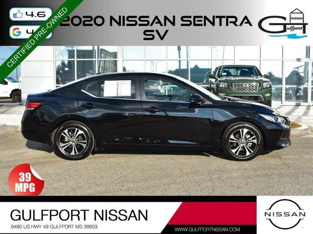 2020 Nissan Sentra SV FWD