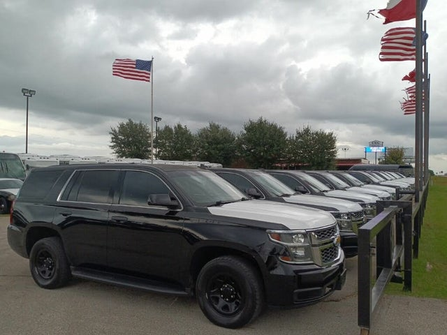 2012 Chevrolet Tahoe Police RWD