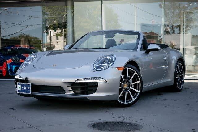2013 Porsche 911 Carrera Cabriolet RWD