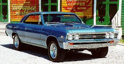 1967 Chevrolet Chevelle, Picture of 1967 Chevy Chevelle, exterior