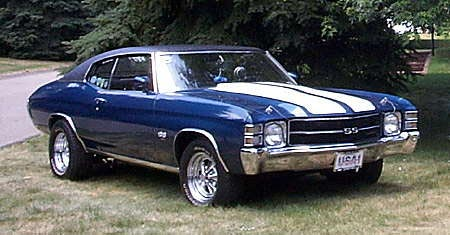 1971 Chevrolet Chevelle, Picture of 1970 Chevy Chevelle, exterior