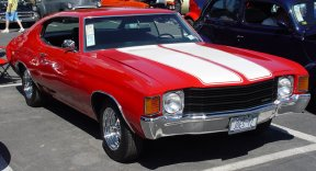 1972 Chevrolet Chevelle Overview