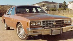 1982 Chevrolet Impala, Picture of Chevy Impala, exterior