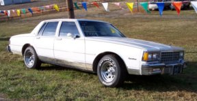 1983 Chevrolet Impala, Picture of Chevy Impala, exterior