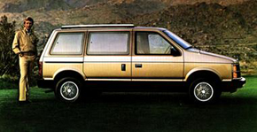 1984 Dodge Caravan Overview
