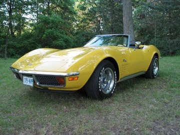 1972 Chevrolet Corvette Convertible, Picture of 1972 Corvette Convertible