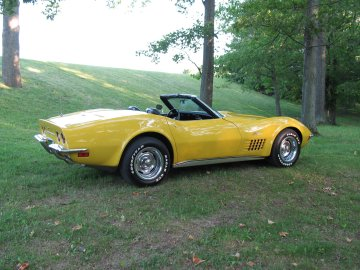 1972 Chevrolet Corvette Convertible, Picture of 1972 Corvette Convertible, exterior