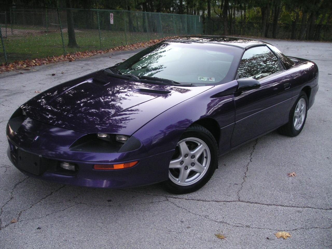 1997 Chevrolet Camaro Picture Gallery