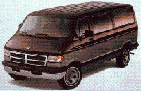 1994 Dodge Ram Wagon, Picture of 1994 Ram Wagon