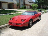 1984 Chevrolet Corvette Coupe, Hmm, sorry about the photo this was before I actually bought it and the previous owner didn't feel it  neccesary to fix the headlights., exterior