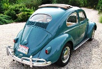 1955 Volkswagen Beetle, Picture of 1957 Volkswagen Beetle