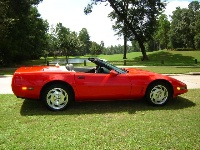 1995 Chevrolet Corvette Convertible, This 95 only has 34,500 miles, exterior