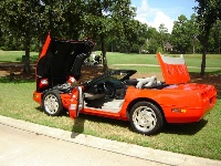 1995 Chevrolet Corvette Convertible, Picture of 1995 Chevrolet Corvette 2 Dr STD Convertible