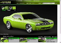 2008 Dodge Challenger, Green
